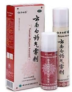 Yunnan baiyao spray